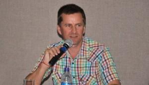 Professor Leandro Colling na Abertura do II Enlaçando Sexualidades