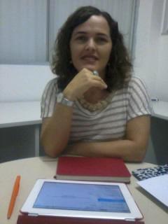 Professora Suzana Barbosa, coordenadora do Projeto para a criação do Laboratório de Jornalismo Convergente