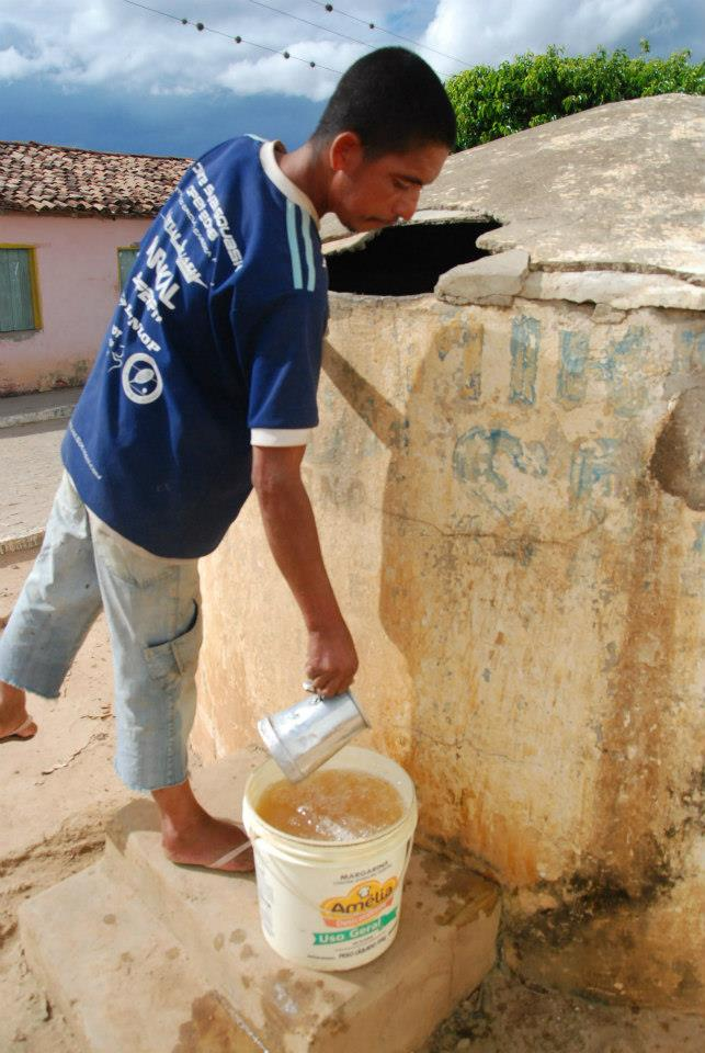 A implementação das cisternas de placas é uma iniciativa para a convivência com o semiárido. Foto: Edvan Lessa.