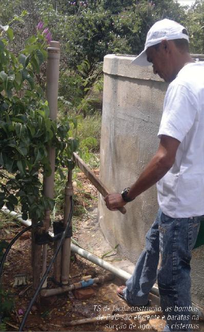 No período entre agosto de 2010 e março do ano passado foram construídas 2.225 cisternas, mobilizando 200 pedreiras e pedreiros de comunidades do semiárido.