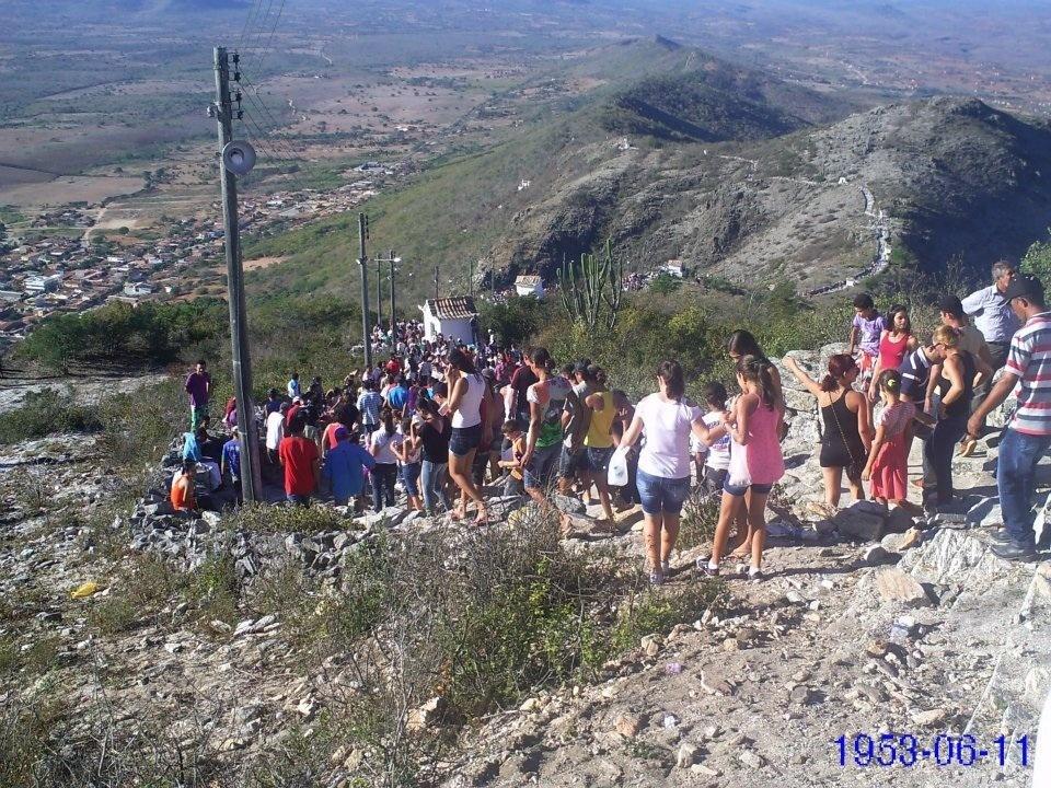 Monte Santo: Descida da Serra da Fé. Foto: Liliana Peixinho.