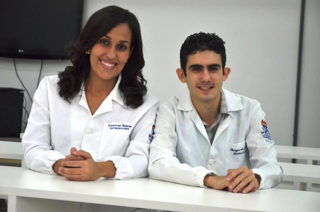 Thamires Soares e Thiago Sousa (Foto: Emile Conceição)