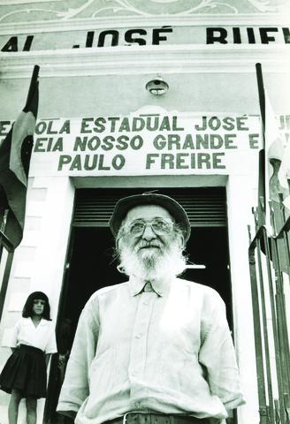 Paulo Freire em Angicos/ Fonte: Acervo Paulo Freire