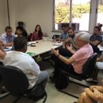 Reunião teve como ponto central apresentar o planejamento do Pós-Cultura para alcansar a excelencia dentro da pós-graduação. / Foto: Comissão de Comunicação - divulgação