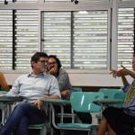As apresentações dos Grupos de Trabalho foram mediadas pelo historiador e coordenador do Pós-Cultura, Roberto Severino / Imagem: Jefferson Hora
