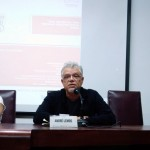 Pesquisador André Lemos fala da importância do entendimento do conceito de privacidade./Foto: Yasmim Santos